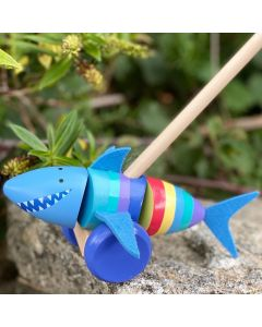 Orange Tree Toys - Shark Push Along