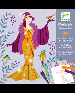 Iris Paper Folding - Art deco dresses by Djeco