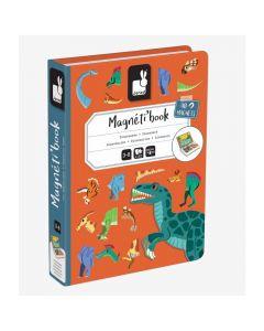 Janod Dinosaur Magneti' Book