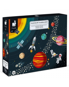 Janod Educational Puzzle - Solar System