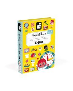 Janod Tell The Time Magneti' Book