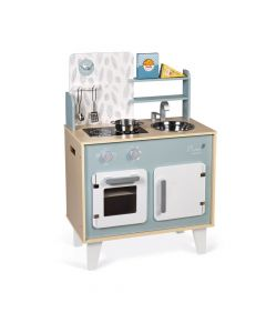 Janod Plume Wooden Cooker - Blue