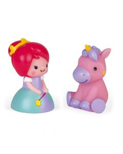 Janod Squirter Princess & Luminous Unicorn 04706
