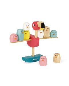Janod Zigolos Balancing Flamingo Game