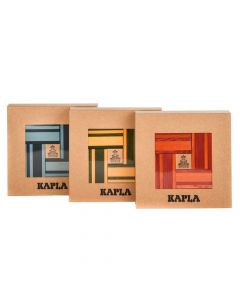 Kapla Book Set with 40 Coloured Planks