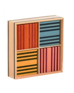 Kapla Octocolour Box of 100 planks