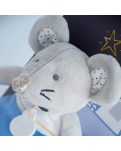 Little Mouse Emile with tooth fairy pouch