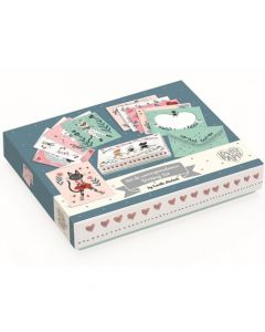 Lucille Writing Box - Djeco Lovely Paper Stationery