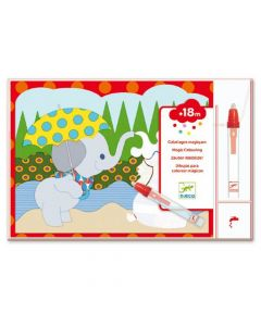 Djeco Magic Colouring - Hidden Outside