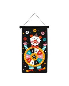 Janod Arts and Crafts for Kids - Magnetic Dart Game - Circus - save 10%