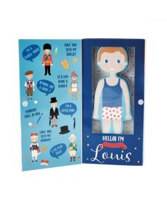 Magnetic Dress Up Doll - Prince Louis