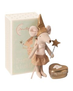 Maileg Tooth Fairy Mouse In A Matchbox - Big Sister