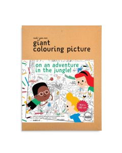 Makii Giant Colouring Picture - Jungle Adventure!