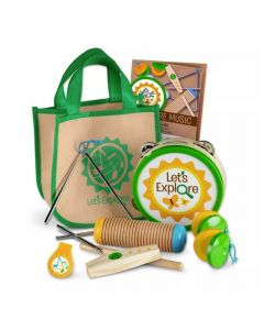Melissa and Doug Let's Explore Camp Music Play Set 40808