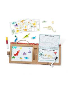 Melissa and Doug Play, Draw & Create - Dinosaurs
