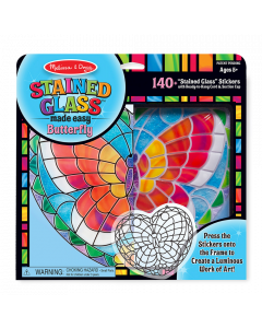 Melissa and Doug Stained Glass - Butterfly