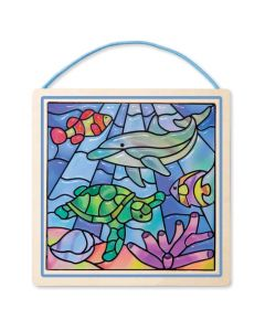 Melissa and Doug Stained Glass - Ocean