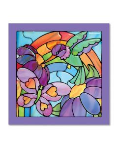 Melissa and Doug Stained Glass - Rainbow Garden