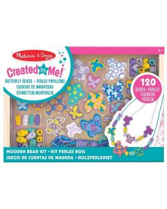 Melissa and Doug Wooden Butterfly Bead Set