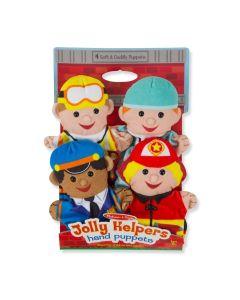 Melissa & Doug Jolly Helpers Puppets