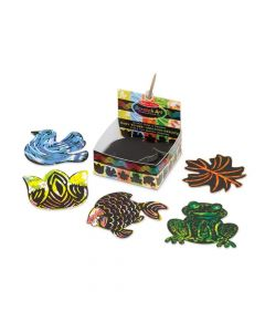 Melissa & Doug Nature Scratch Art Mini Notes
