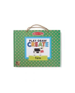 Melissa & Doug Play, Draw Create Farm