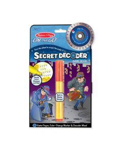 Melissa & Doug Secret Decoder Game Book 15248