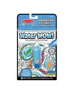 Melissa & Doug Water Reveal Pad Underwater Pathways 40179
