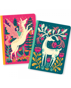 Melissa Small Notebooks - Djeco Lovely Paper