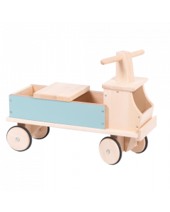 Moulin Roty Blue Wooden Truck Ride On - save 20%