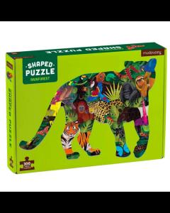 Mudpuppy Dinosaur Shaped Puzzle