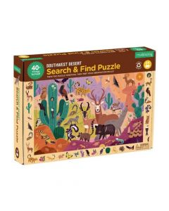 Mudpuppy Dinosaur Shaped Puzzle