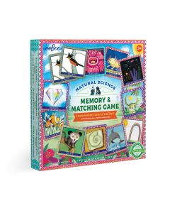 Eeboo Natural Science Memory & Matching Game MGSCI