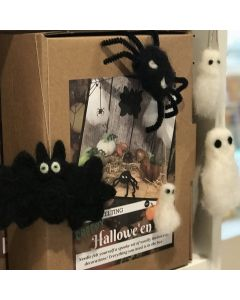 The Crafty Kit Co, Needle Felting Kit - Creepy Halloween Kit