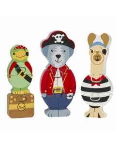 Orange Tree Toys - Animal Pirate Puzzle Set - save 20%