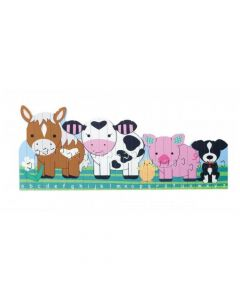 Orange Tree Toys - Farm Alphabet Puzzle