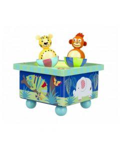 Orange Tree Toys - Jungle Animals Music Box OTT15803