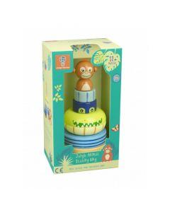 Orange Tree Toys - Jungle Animals Stacking Ring OTT12766