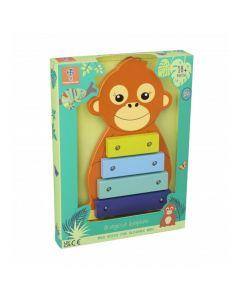 Orange Tree Toys - Orangutan Xylophone OTT14759