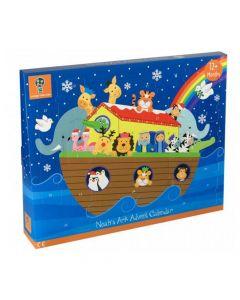 Orange Tree Toys - Wooden Noah's Ark Advent Calendar