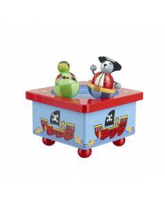 Orange Tree Toys Animal Pirate Music Box