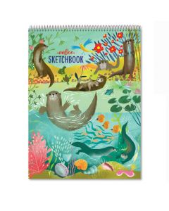 Eeboo Otters Sketchbook