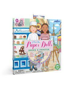 Eeboo Baker & Painter Paper Doll Set
