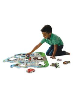 Peaceable Kingdom Castle Floor Puzzle PZ36