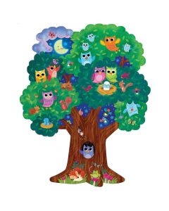 Peaceable Kingdom Hoot Owl Hoot Floor Puzzle PZ29