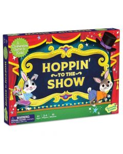 Peaceable Kingdom Hoppin' to the Show Game