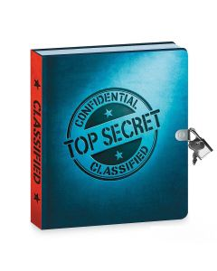 Top Secret Lock and Key Diary With Invisible Pen