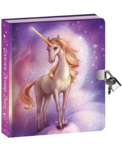 Unicorn Lock and Key Diary With Invisible Pen