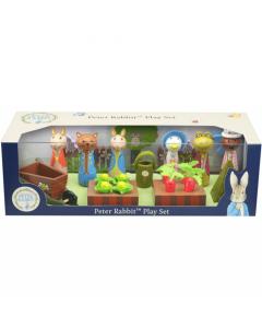 Peter Rabbit Wooden Play Set