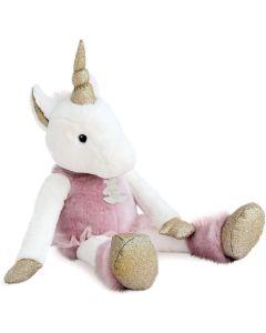 Doudou et Compagnie Histoire d'Ours  - Unicorn 25 cm